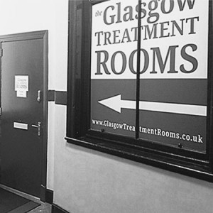 Glasgow Treatment Rooms Entrance