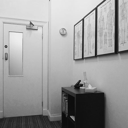 Glasgow Treatment Rooms Lobby