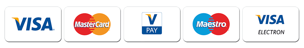 I accept credit and debit card payments.